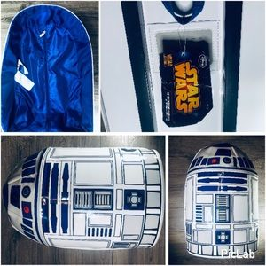 Star Wars Bags - Star Wars R2 D2 Rolling Case w/ Lights & Sound